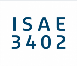 Certification ISAE 3402 Type II