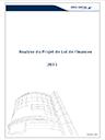 Analyse du Projet de loi de Finances 2015